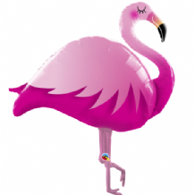 Flamingo Large Foil Balloon 1pc